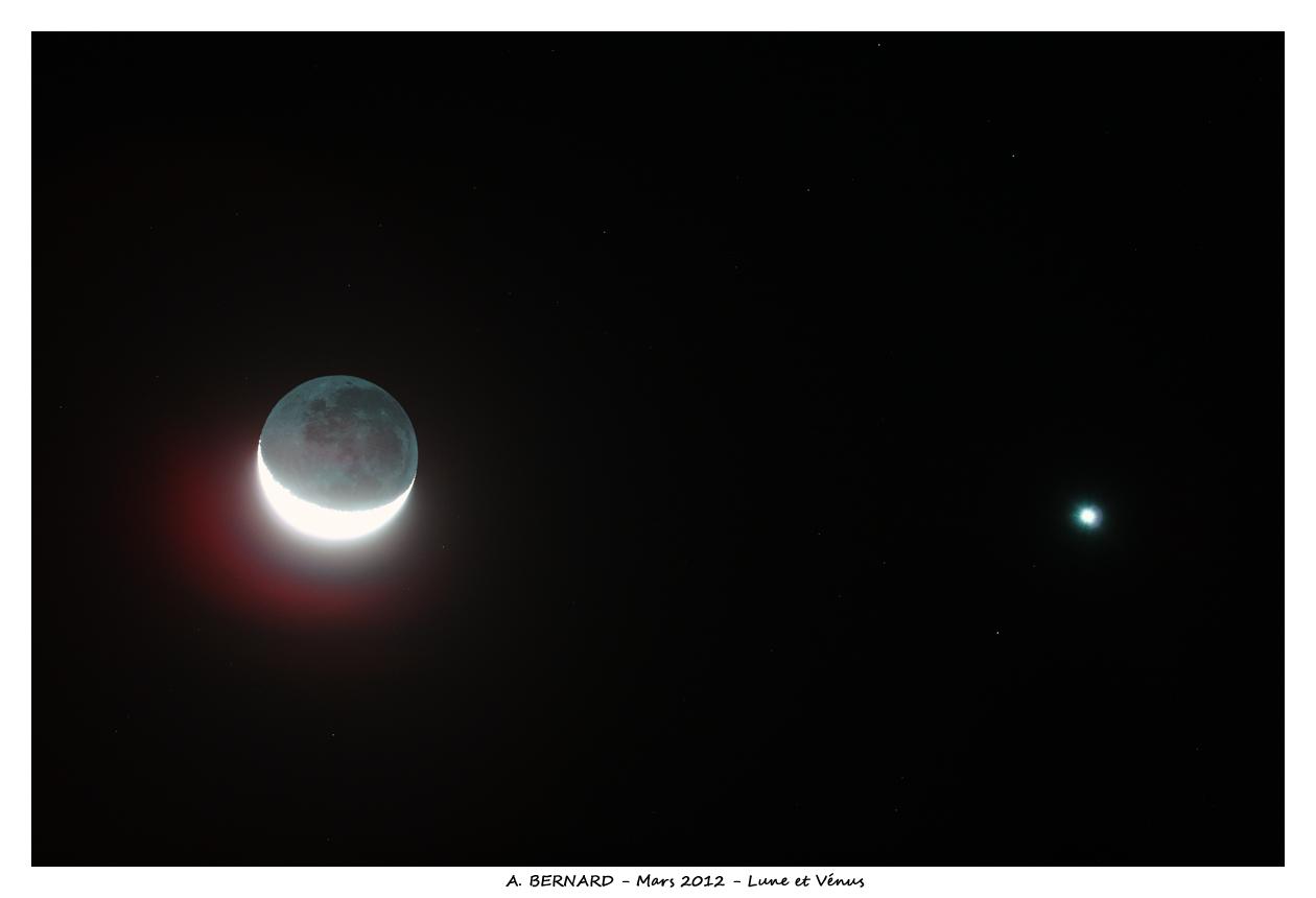 Lune et Venus au Canon EOS5D sur FSQ106
