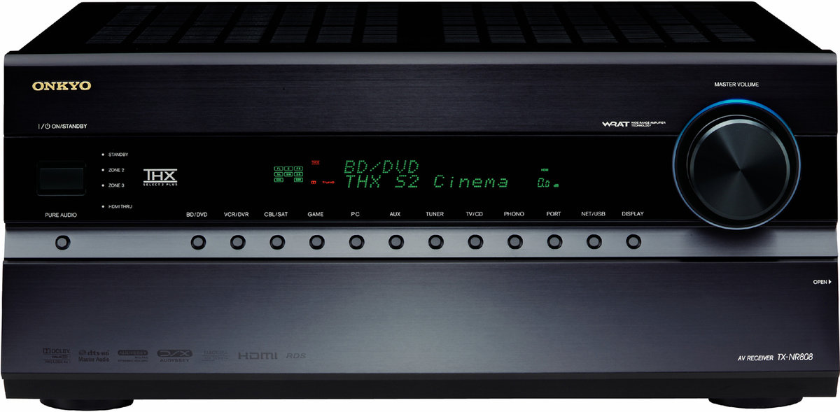 Onkyo-TX-NR808 - Face Avant